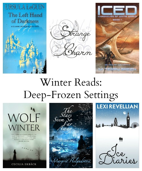 Winter Reads Collage